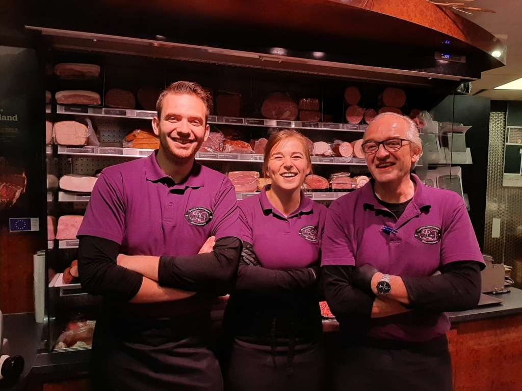 Slagerij Jaap van Prooijen is ook een echt familiebedrijf.  <p>Slagerij Jaap van Prooijen</p> © BDU media