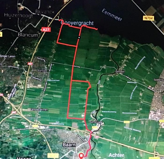 13Onze route via de Satelliet van Garmin Onno Wijchers © BDU media