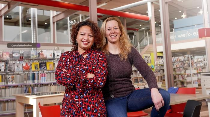 Jessica de Koning en Angélique Haverkamp organiseren Open Coffee Nijkerk
