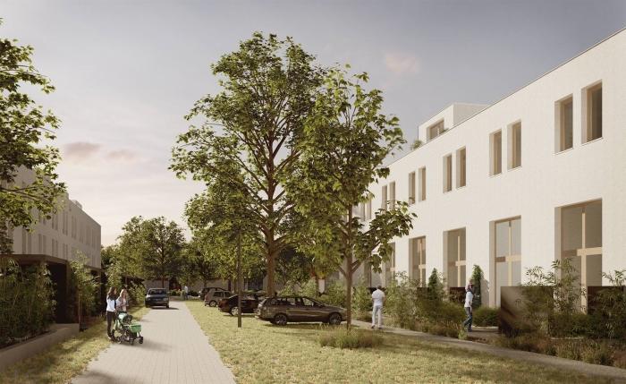 Impressie woonwijk Hof van Duurzaamheid door Studio Nauta