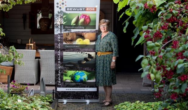 <p>Hennie van de Vendel:,, Bewust Ede helpt graag mensen op weg.&#39;&#39;</p>