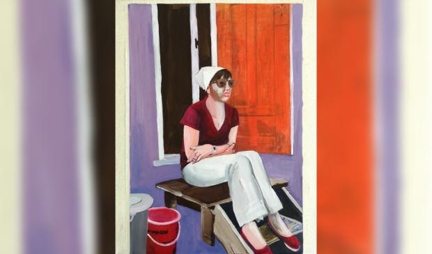 """<blockquote type=""""cite""""><p>Afbeelding van een schilderij in olieverf van Anja Kok</p></blockquote>"""