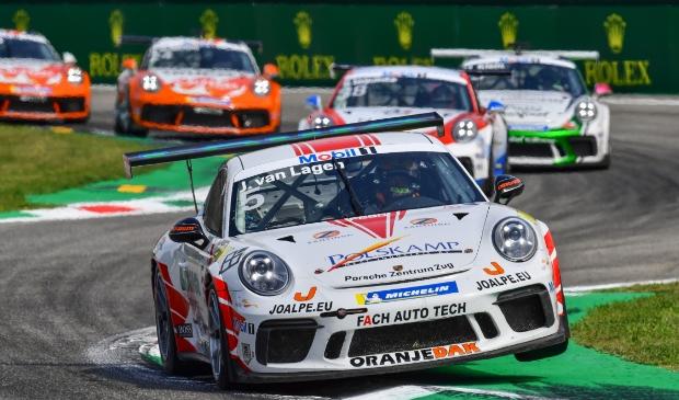 Jaap van Lagen op Monza.