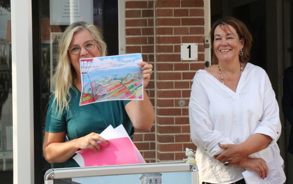 Sandra Overweg en Henriët van Roosmalen van het project 'Kees de Muis' wijnand burger © BDU media