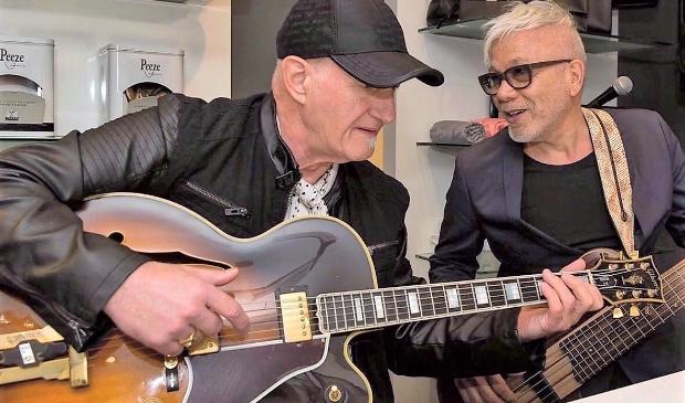 'Met Jan Akkerman heb ik een zeer goede band'