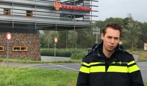 <p>Fragment uit filmpje met getuigenoproep van politie Amstelveen.</p>