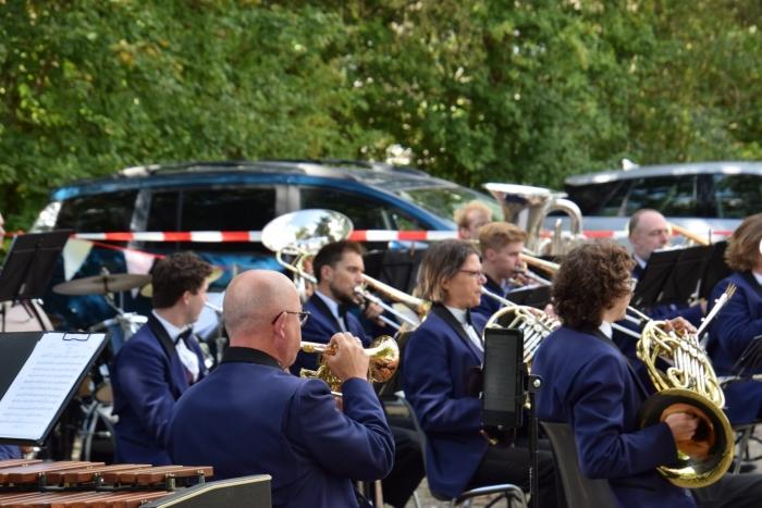 De muzikanten genoten van deze mogelijkheid Ed van Rijn © BDU media