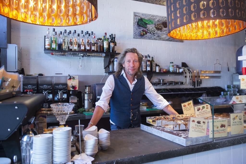 <p>Corona Coffee Corazon eigenaar Dirk-Jan Stip.</p>