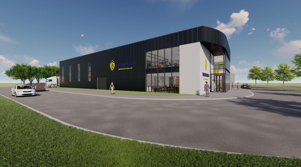Zo gaat het nieuwe gebouw er uit zien. Pr © BDU media