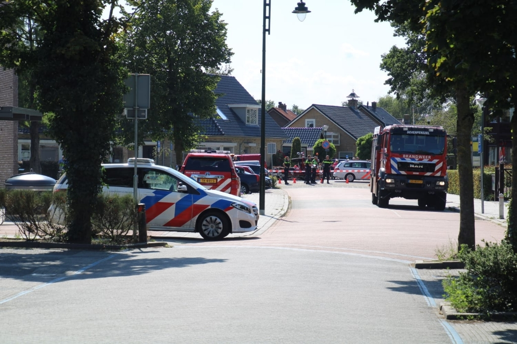 Gaslek Vijverlaan bij het Huis in de Wei. AberMedia © BDU media