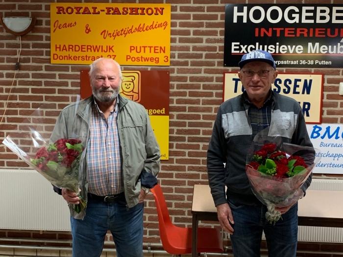 Rechts: G. Doppenberg en Links: Udo Uhrig