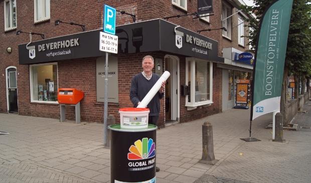 <p>Verfspeciaalzaak De Verfhoek aan de Dorpsstraat 247 heeft duurzame producten van een goede kwaliteit en voor een betaalbare prijs</p>