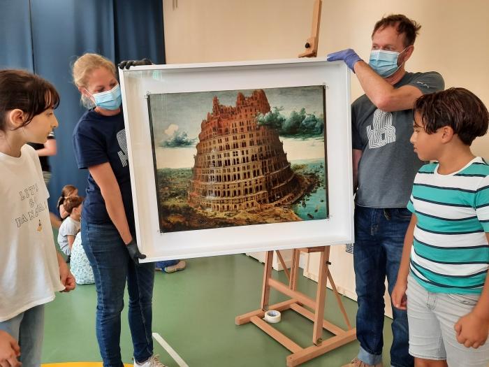 Topstuk uit de collectie van Boijmans: De toren van Babel door Pieter Breugel. A. van Hofwegen © BDU Media