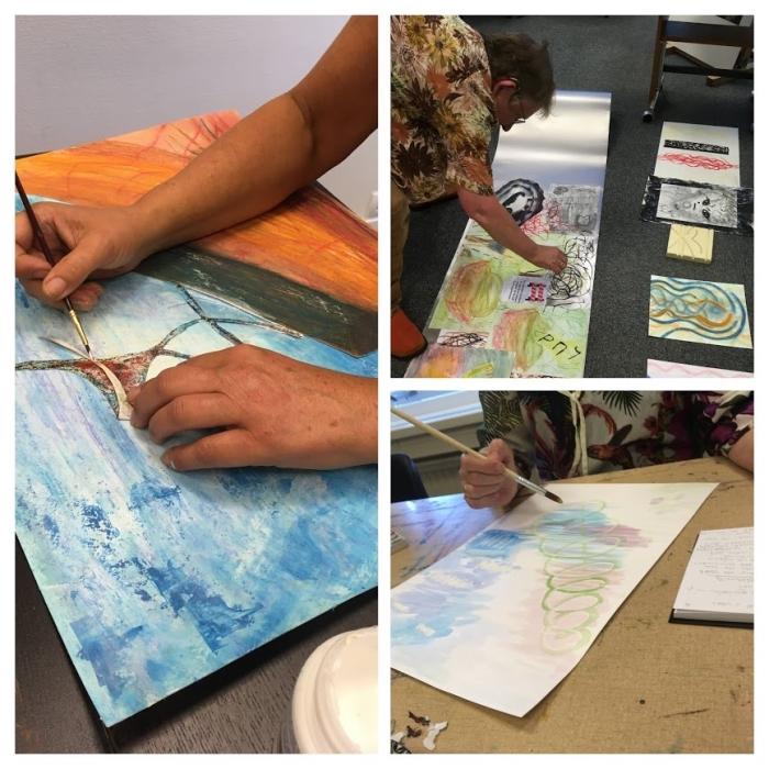Aan het werk in Atelier Verbeelding