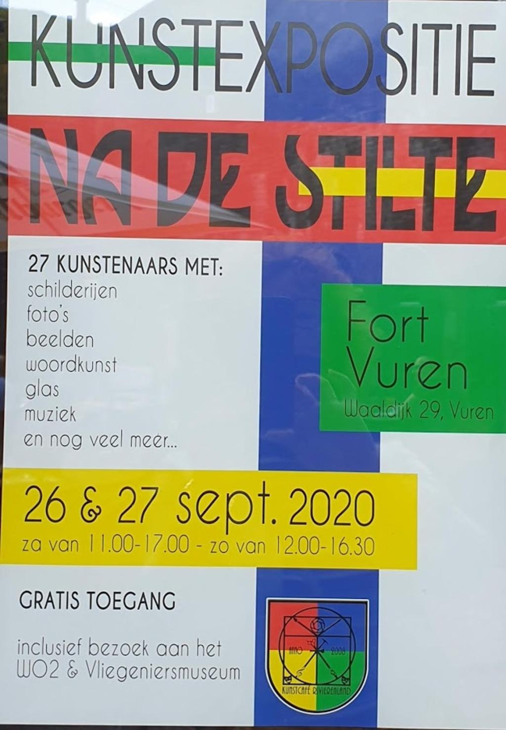 <p>pamflet kunstexpositie<br><br></p> <p>Sky of Hope Vliegeniersmuseum</p> © BDU Media
