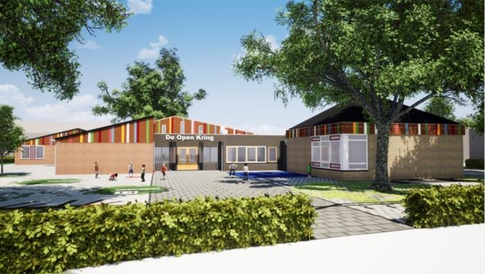 Impressie renovatie De Open Kring WA architecten © BDU Media