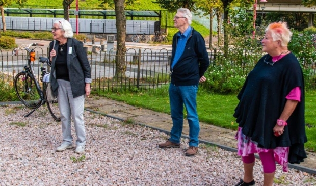 Ans en Hans Quirijnen en Jo Blom.