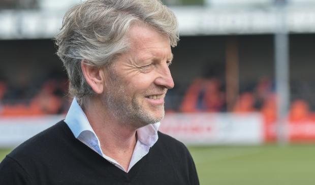 Trainer Eric Speelziek kon tevreden zijn met de prestatie van zijn team Aalt Guliker © BDU Media