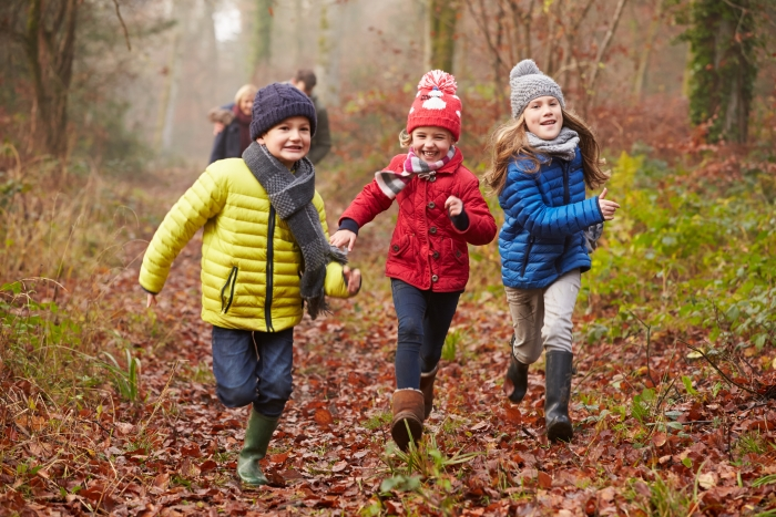 Superspeurders-Rennende kinderen-herfst