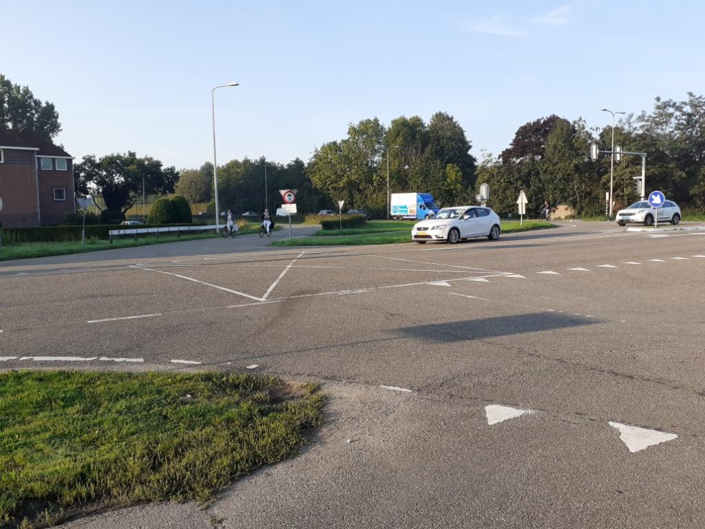 <p>De kruising Zeisterweg - Werkhovenseweg waar het ongeluk gebeurde</p>