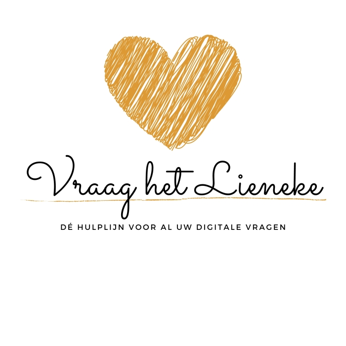 Logo van Vraag het Lieneke. L. Reitsma © BDU Media