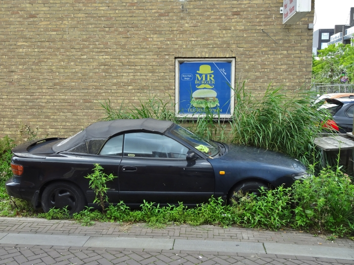 Oude auto geparkeerd Willem ten Veldhuys © BDU media