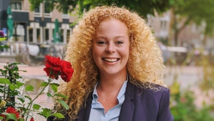 Voorzitter Laura van Nieuwenhuijze