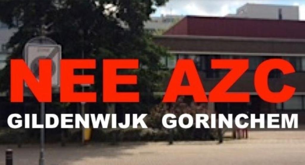 Beeld van de facebook pagina tegen de komst van een AZC Facebook © BDU Media