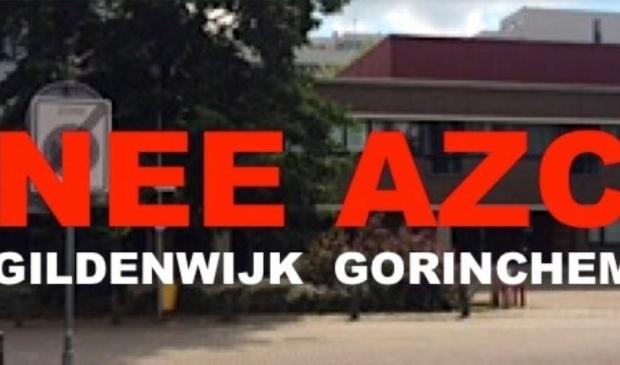 <p>Beeld van de Facebook pagina van protesten tegen de komst van een AZC</p>