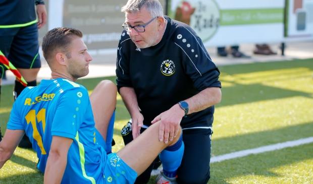 Donovan Rijlaarsdam, nu nog Blauw Geel '55 wil nieuwe club omhoog helpen. Theo Beumer © BDU Media