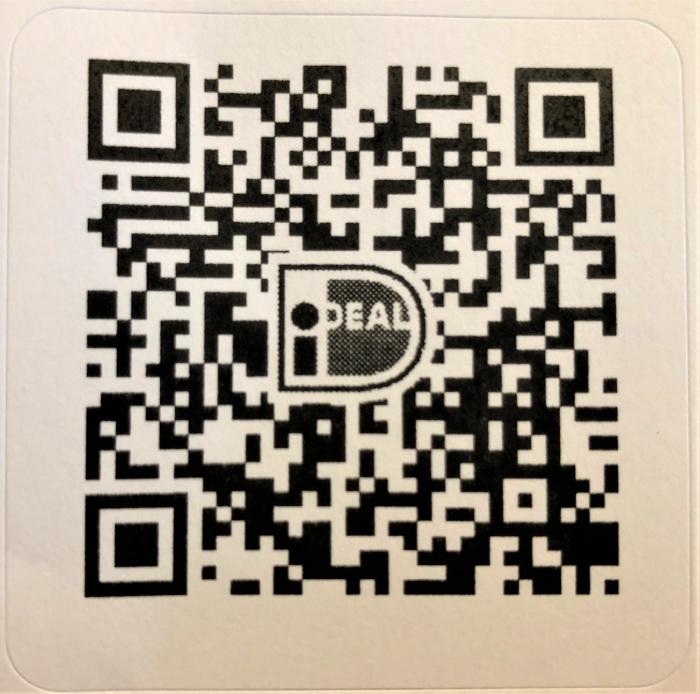 Doe nu alvast uw eenmalige gift aan de Nierstichting door deze QR code te scannen pr © BDU media