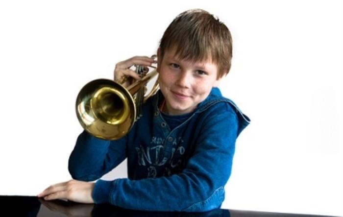 Trompet is één van de vele instrumenten die op de proeflesdag uit te proberen zijn.