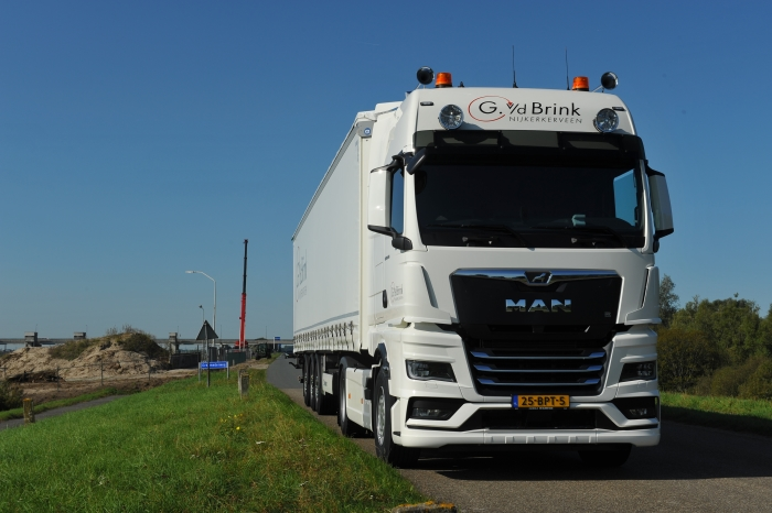 De nieuwe MAN truck Tim de Jong © BDU Media