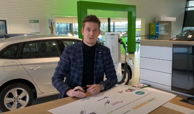 Ook De Waal autogroep zette zijn handtekening onder de intentieovereenkomst van Samen Bereikbaar