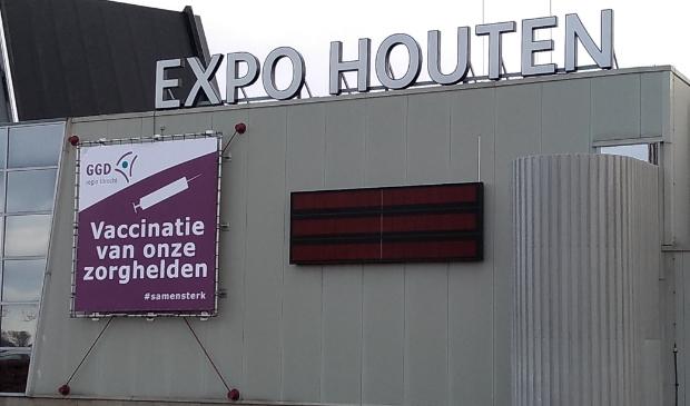 <p>De eerste vaccinatielocatie van de GGD in de provincie Utrecht is de Expo in Houten</p>
