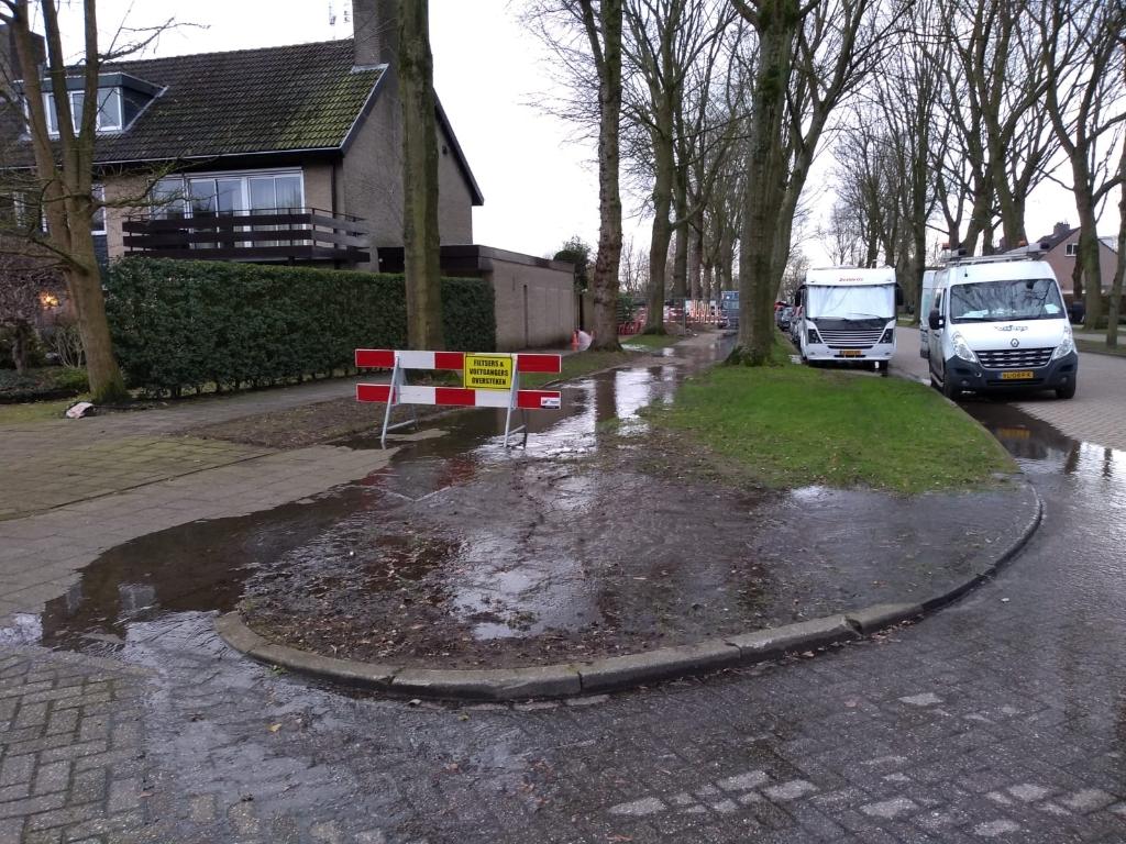 <p>De werkzaamheden zorgen voor wateroverlast</p> Agnes Corbeij © BDU media