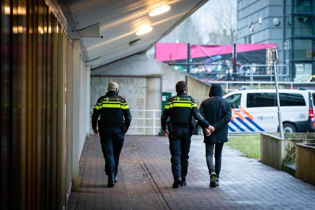 Man aangehouden Koen Laureij © BDU media