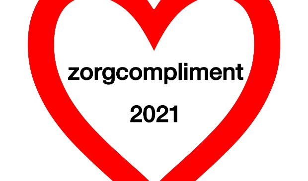 <p>Logo Zorgcompliment 2021</p>