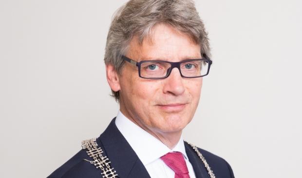 Burgemeester Lucas Bolsius.