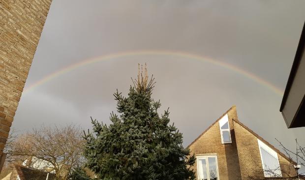 Een volledige regenboog