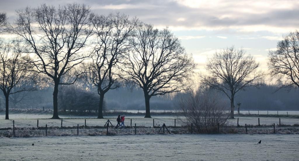 Het jaagpad in het winterse landschap Gemmy Cornetz © BDU media