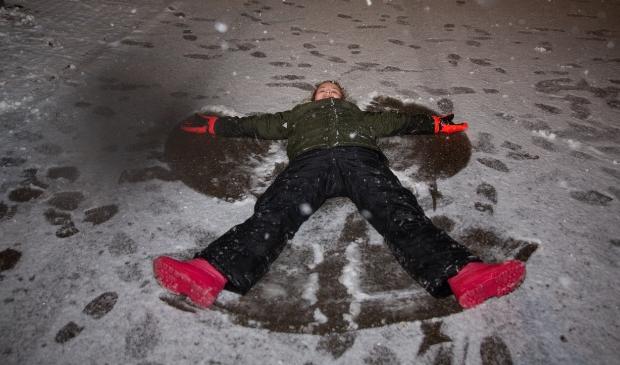 Eerste sneeuw in Barneveld en Voorthuizen Bram van den Heuvel © BDU media