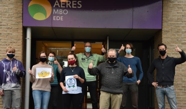 <p>Aeres MBO in Ede is opnieuw uitgeroepen tot beste groene school (AOC) van Nederland.</p>