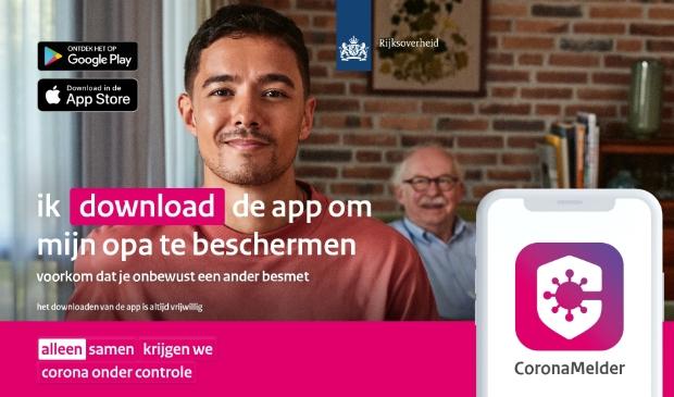 Meer dan de helft van de Utrechters vindt de Coronamelder nuttig.