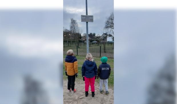 De kinderen zien de fout