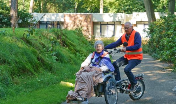 Gast en vrijwilliger van Allegoeds Vakanties op de fiets