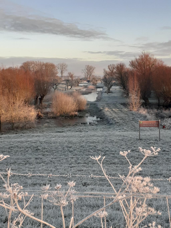 Winter bij werk aan de Groeneweg Willy van Selm © BDU media