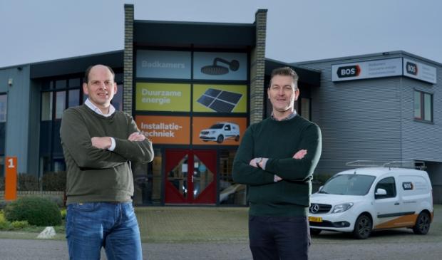Jan van Asselt (links) en Evert Bos bundelen de krachten bij Bos Installatietechniek.