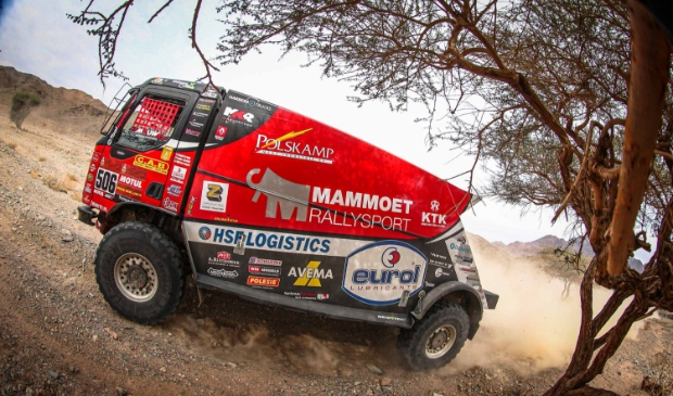 <p>Martin van den Brink boekte zijn beste resultaat ooit in de Dakar Rally. De Harskamper eindigde als achtste algemeen.</p>