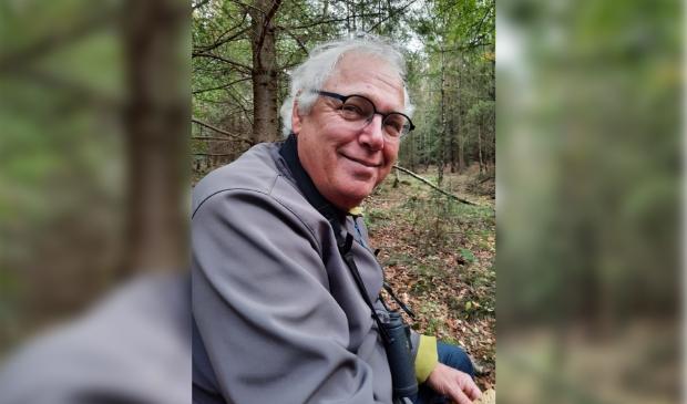 Wandelcoach en vogelaar Frans Hoving